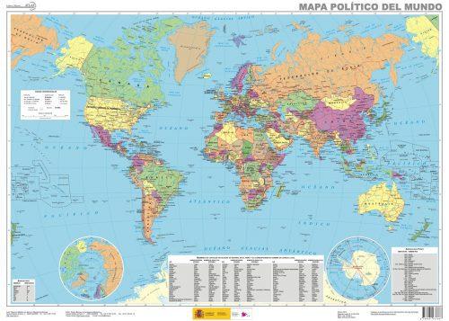 mapa del mundo pdf gratis
