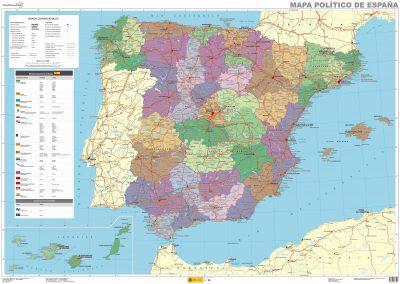 Mapa politico españa