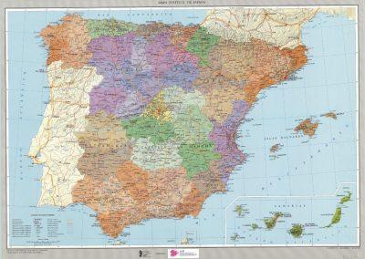 Mapas politicos españa