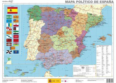 Mapa España Politico