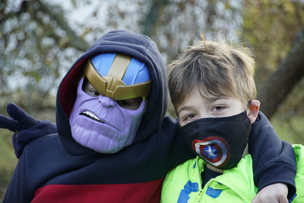 fiesta tematica super heroes