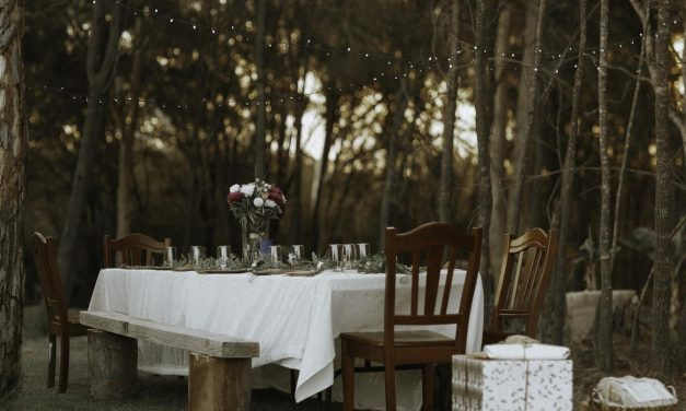 Organizar una primera comunión en tu jardín